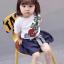 เสื้อ+กางเกง สีขาว (น้องอายุ 6 เดือน - 4 ปี) thumbnail 3