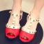 รองเท้าเด็ก สีแดง thumbnail 1