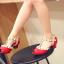 รองเท้าเด็ก สีแดง thumbnail 3