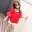 เสื้อ+กางเกง สีแดง thumbnail 1