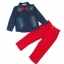 เสื้อยีนส์+กางเกงสีแดง thumbnail 4