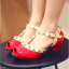 รองเท้าเด็ก สีแดง thumbnail 2
