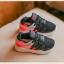 รองเท้าผ้าใบเด็ก สีดำ thumbnail 2