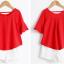เสื้อ+กางเกง สีแดง thumbnail 5