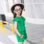 ชุดเซ็ท เสื้อ+กางเกง สีเขียว thumbnail 7