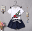 เสื้อ+กางเกง สีขาว (น้องอายุ 6 เดือน - 4 ปี) thumbnail 4