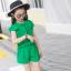 ชุดเซ็ท เสื้อ+กางเกง สีเขียว thumbnail 3