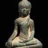 รูปหล่อพระพุทธเก่า สมัยอยุธยา สูง 2.5 นิ้ว