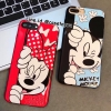 เคสนิ่ม Mickey & Minnie iPhone 5/5S/SE