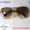 Jessica Simpson ทรง Aviator สีน้ำตาล