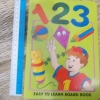 123 Easy To Learn Board Book