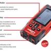 Hilti PD-E LASER RANGE METERS Distance Measurer Meter replace PD42
