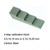 แผ่นสอบเทียบเครื่องวัดความหนา 4 ระดับ(Metric Test Calibration Standard block)