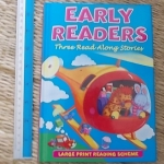 Early Readers: Three Read Along Stories (Large Print Reading Scheme)