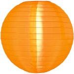 โคมไฟผ้า ภายนอก สีส้ม
