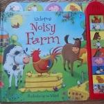 Usborne NOISY FARM (sound Book)