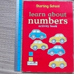 Learn About NUMBERS Activity Book (Starting School)