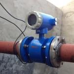 เครื่องวัดอัตราการไหลแบบแม่เหล็กไฟฟ้า (Electromagnetic Flow Meter) ขนาดเส้นผ่านศูนย์กลางท่อ 50 มม.(DN50) 35-350 m3/H