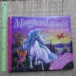 Magical World Stencil Book