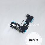 แพร USB + Mic (ตูดชารจ์) ไอโฟน 7 สีดำ (สำหรับเครื่องดำ)