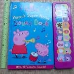 Peppa's super Noisy Sound Book (With 18 Fantastic Sounds) (มีตำหนิ ขาดบางหน้า)