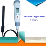 Pen-type portable dissolved oxygen meter fish pond oxygen test low temperature water oxygen rang:0.0-20.0mg/L