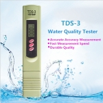 เครื่องทดสอบความกระด้างของน้ำ ราคาถูก (Water hardness tester) รุ่น TDS-3