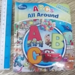 (Disney) ABCs All Around ปกนวม