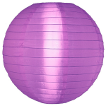 โคมไฟผ้า ภายนอก สีม่วง