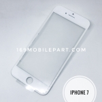 กระจก iPhone 7 พร้อมขอบจอ + กาว OCA สีขาว