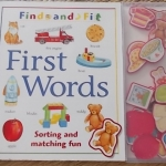 FIRST WORDS (find and Fit/ Sorting and Matching Fun)