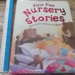 First Fun Nursery Stories (Board Book)