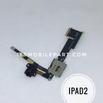 แพรสมอทอรค์ + แผงใส่ซิม iPad 2 3G สีดำ