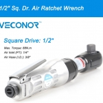 """Veconor 1/2"""" Sq. Dr. pneumatic ratchet wrench air ratcheting socket wrench power air tools"""