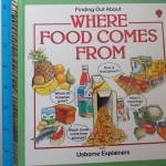 Finding Out About: Where Food Comes From (Usborne Explainers)