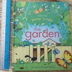 The Garden (Usborne Peep Inside)