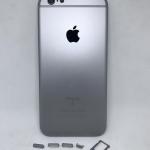 บอดี้ iPhone 6S สีเทาดำ แท้
