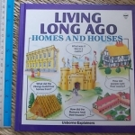 Living Long Ago: Homes And Houses (Usborne Explainers)