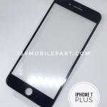 กระจก iPhone 7 Plus พร้อมขอบจอ + กาว OCA สีดำ