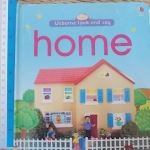 HOME (Usborne Look And Say) / Board Book
