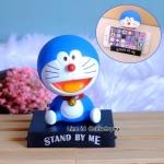 โมเดลหัวโยกสำหรับวางมือถือ ลาย Doraemon (03)