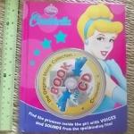 (Disney princess) CINDERELLA (Book and CD)