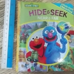 (Sesame Street) Hide & Seek: Near & Far (Little First Look & Find)