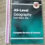 AS-Level GEOGRAPHY/ Exam Board: AQA/ The Revision Guide