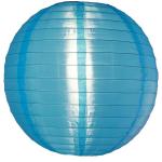โคมไฟผ้า ภายนอก สีฟ้า