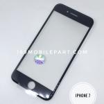 กระจก iPhone 7 พร้อมขอบจอ + กาว OCA สีดำ
