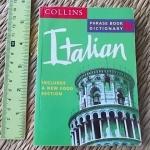 ITALIAN Phrase Book Dictionary (Collins)