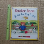 Baxter Bear Goes to the Farm (Board Book)