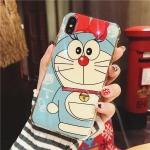 เคสผิวเงา มัน ลาย Doraemon iPhone X