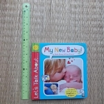 (Let's Talk About...) My New Baby (Board Book)